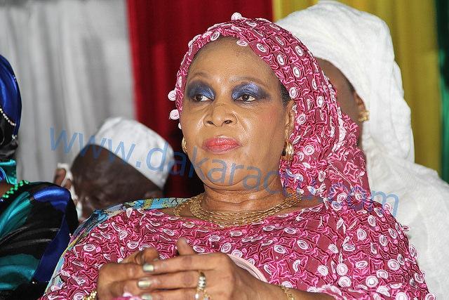 """L'ex sénatrice libérale Aïda N'diongue était au CICES lors de la journée """"Fatélikou"""" Serigne Fallou."""
