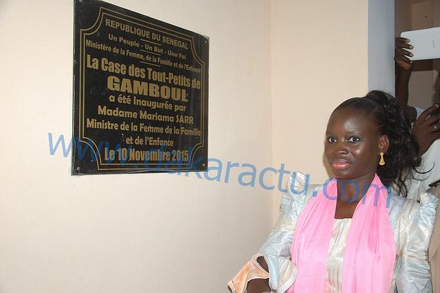 LA CASE DES TOUT-PETITS DE GAMBOUL Une promesse de campagne réalisée par Thérèse Faye Diouf (PHOTOS)