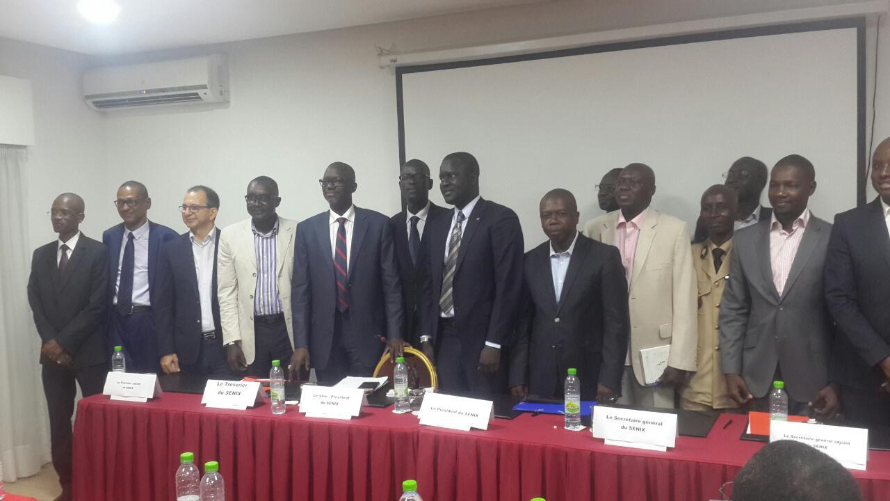 Présidence du Conseil d'Administration du SENIX : Le DG de l'ADIE, Cheikh Bakhoum, plébiscité par ses pairs