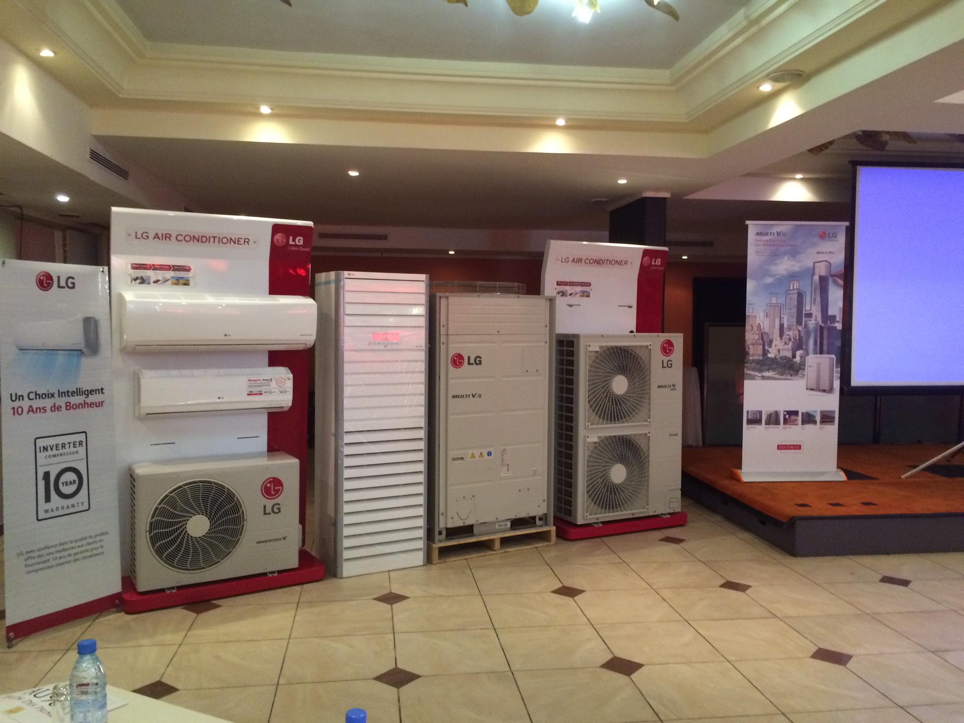 De nouveaux climatiseurs ultra silencieux, à très faible consommation énergétique, des gaz réfrigérés écologiques, un design de luxe, des moteurs garantis 10 ans