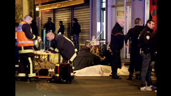 Les terroristes se seraient fait exploser lors de la prise d'assaut du Bataclan.