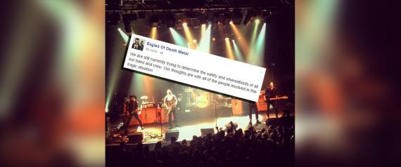 Les Eagles of Death Metal, le groupe qui jouait au Bataclan au moment des attaques de Paris, évoquent le drame sur Facebook