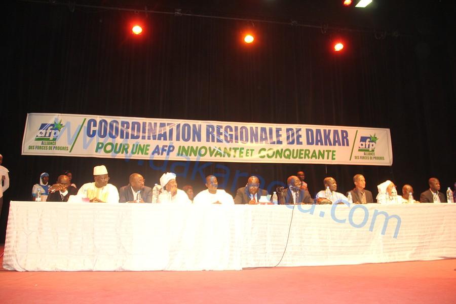 Les Images de l'assemblée générale de l'AFP/Dakar au Théâtre Daniel Sorano