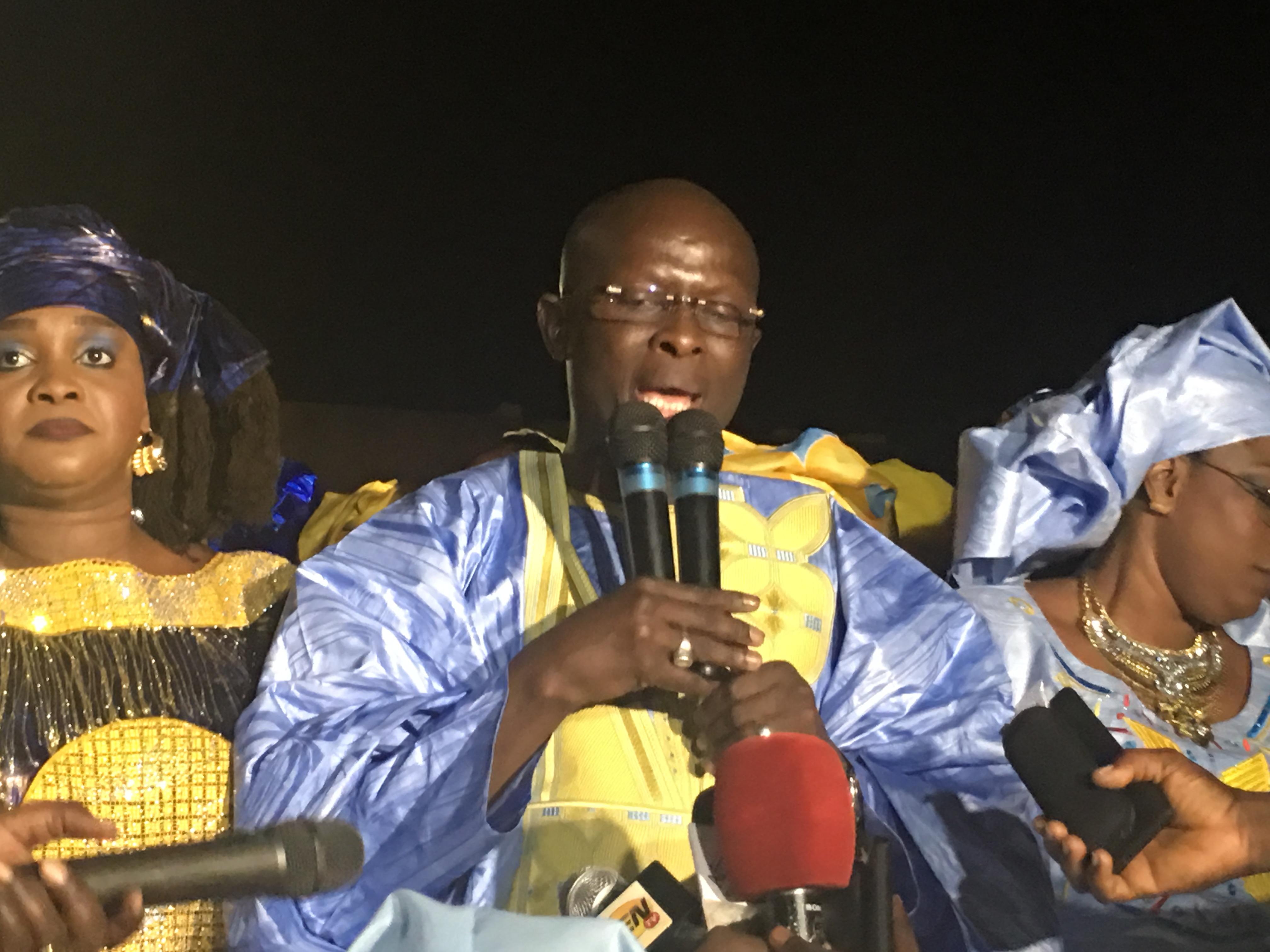 Modou Diagne Fada : « Oumar Sarr et Cie ne peuvent pas mobiliser 10 femmes (…) Oumar Sarr a tremblé devant l'huissier que j'ai envoyé. C'est un homme indigne! »