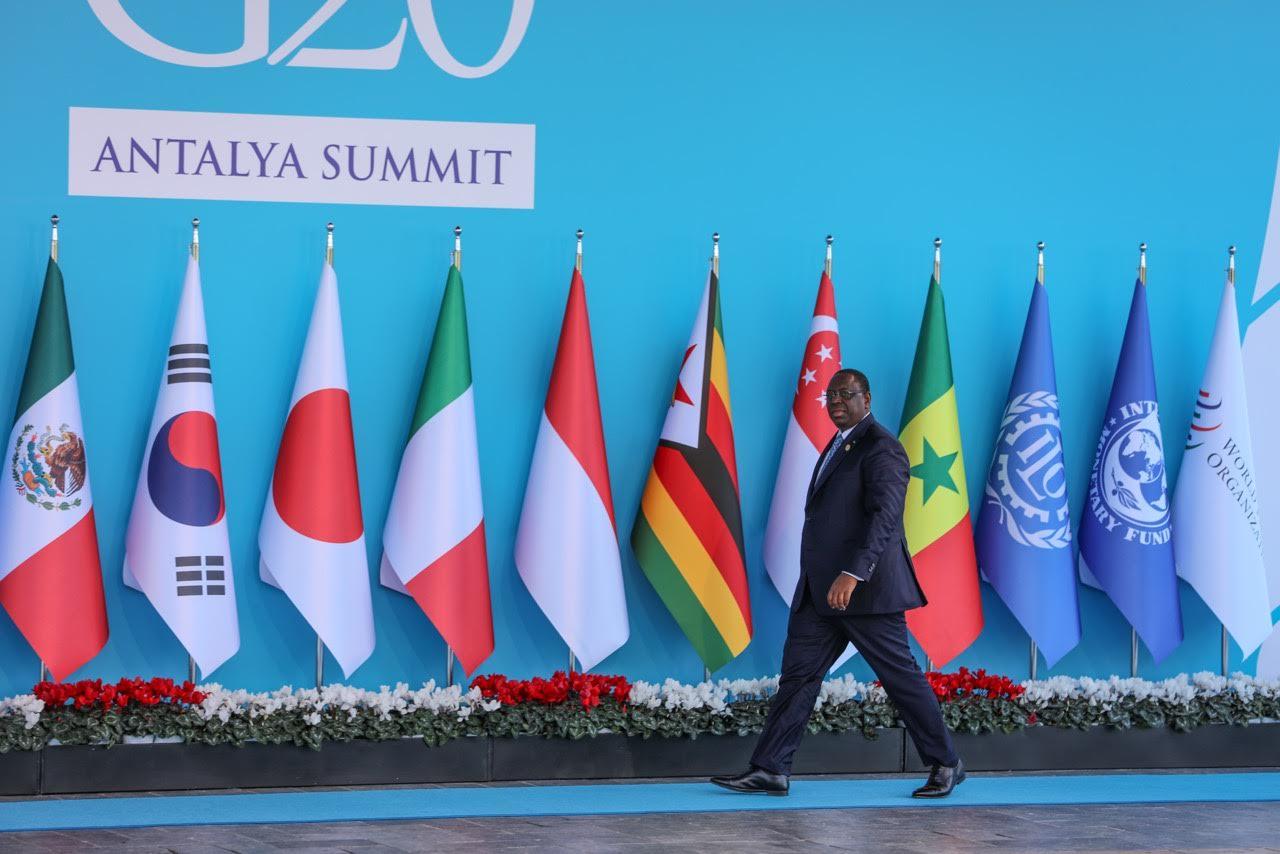 G20 2015 : Macky Sall plaide pour l'émergence des priorités de l'Afrique au rang des préoccupations mondiales
