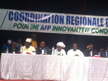 « Malgré l'ingratitude qui caractérise la politique, l'AFP a su rester debout, résolument tourné vers l'avenir » Dr O. Samb, CR de Dakar