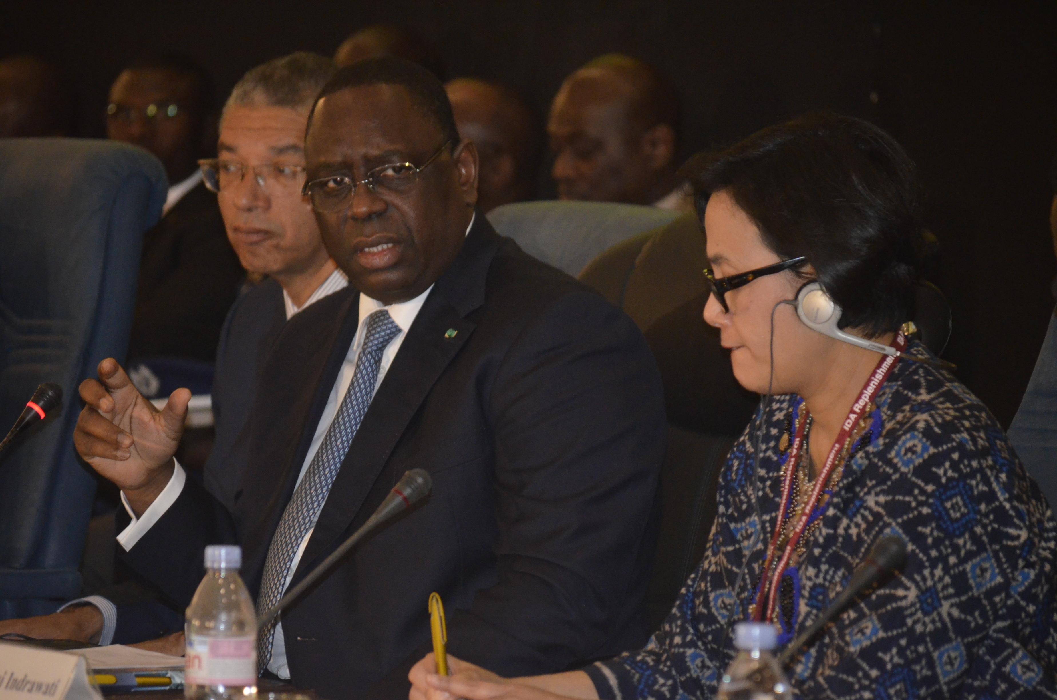 ENERGIE : Macky Sall annonce l'entrée de la phase d'exploitation commerciale de Tobène en 2016