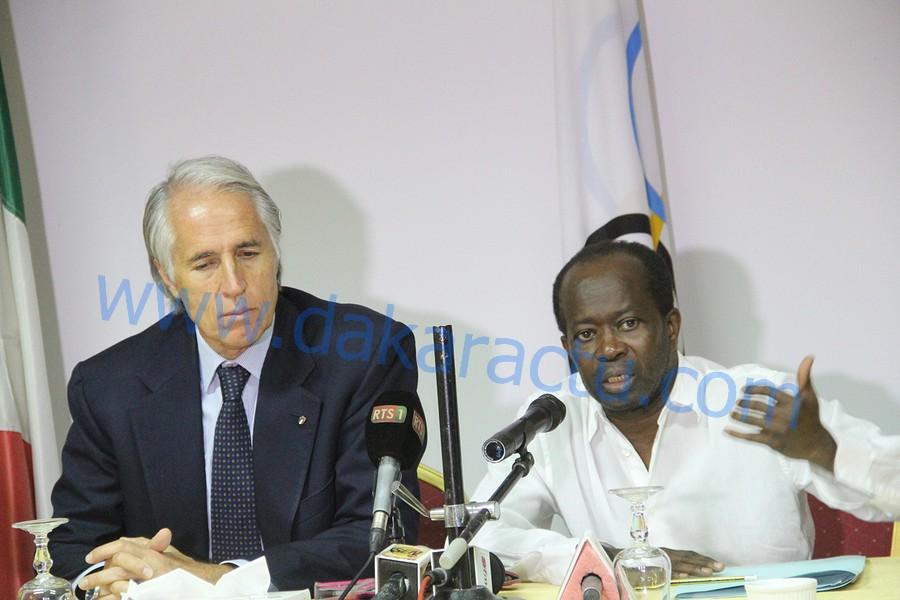 SPORT : Les comités olympiques Sénégalais et Italien signent un mémorandum