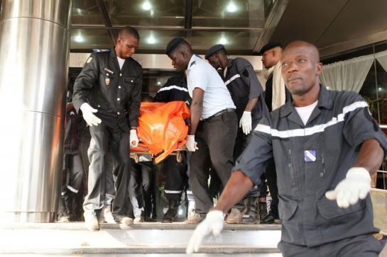 Six Russes tués dans l'attaque de Bamako