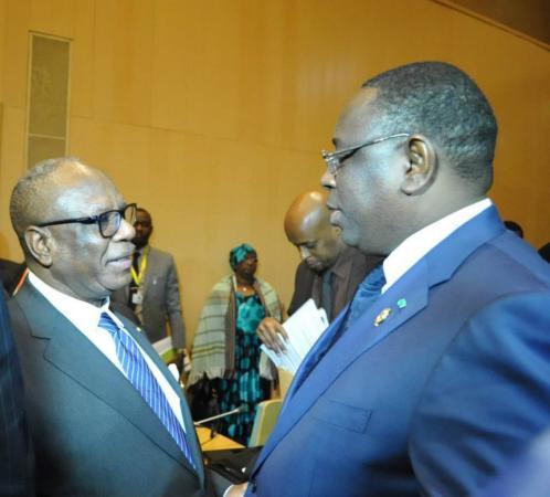 Macky Sall : 'Le Mali ne sera jamais seul dans son combat contre les terroristes'