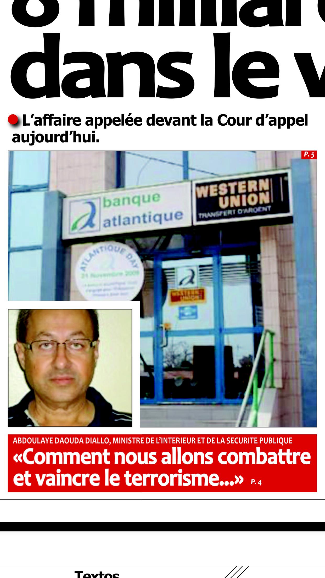 L'homme d'affaires devant la Cour d'appel, ce jour : Après la SGBS et la BOA, Zoheir Wazni poursuivi (encore) pour 8 milliards de F Cfa par la Banque Atlantique