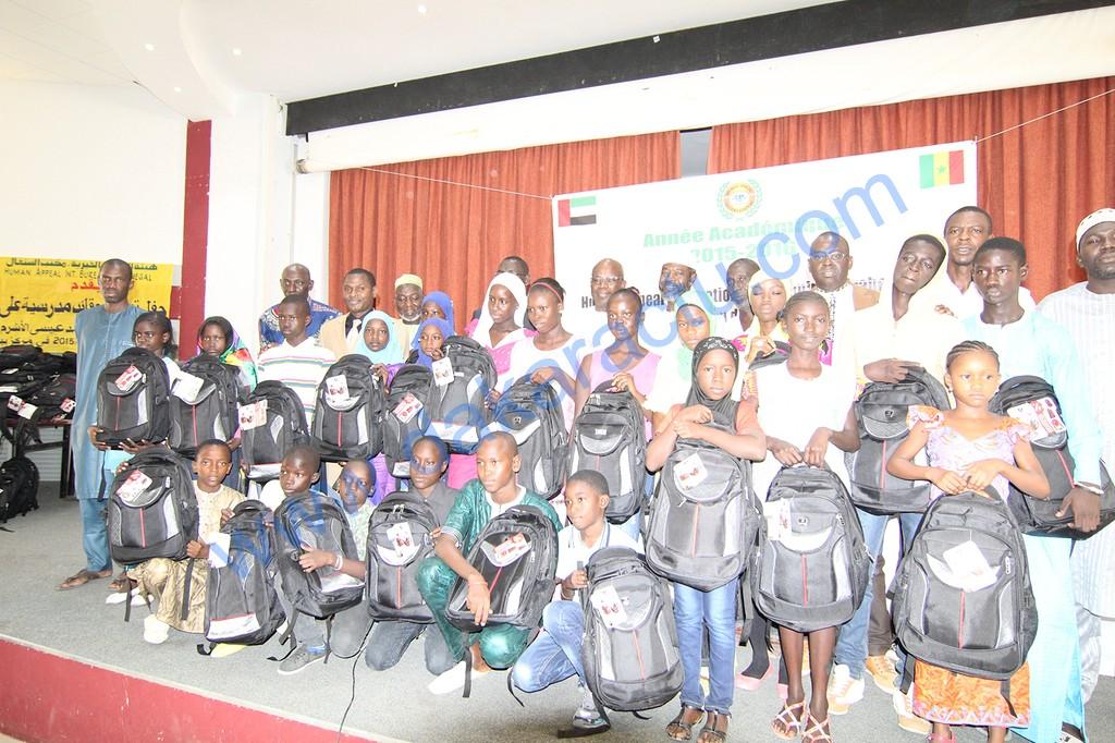 Solidarité : Remise de fournitures scolaires à 500 orphelins de HAI