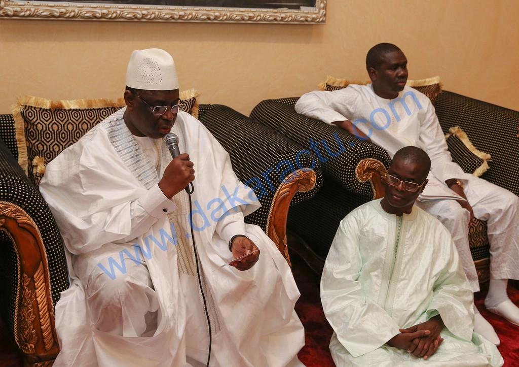 RÉSIDENCE KHADIMOU RASSOUL : Le président Macky Sall a passé la soirée à recevoir