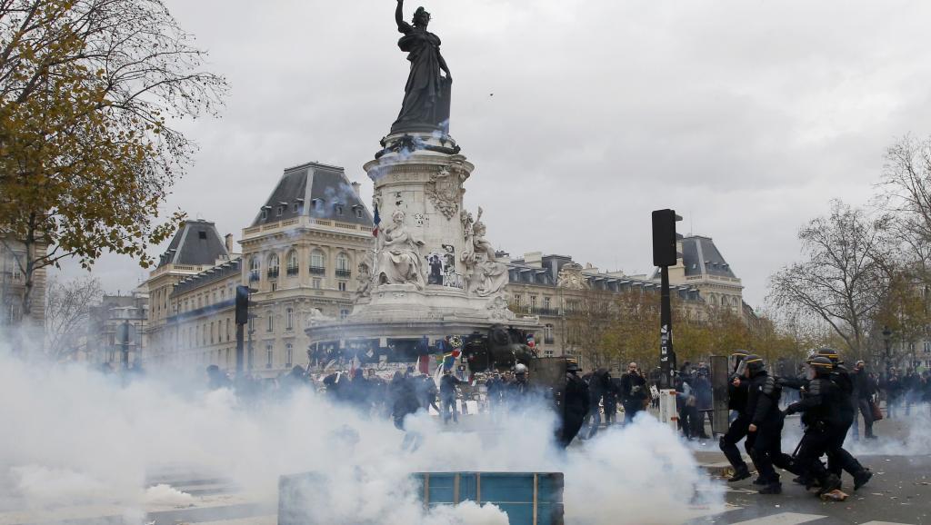 Heurts à Paris en marge de la COP21