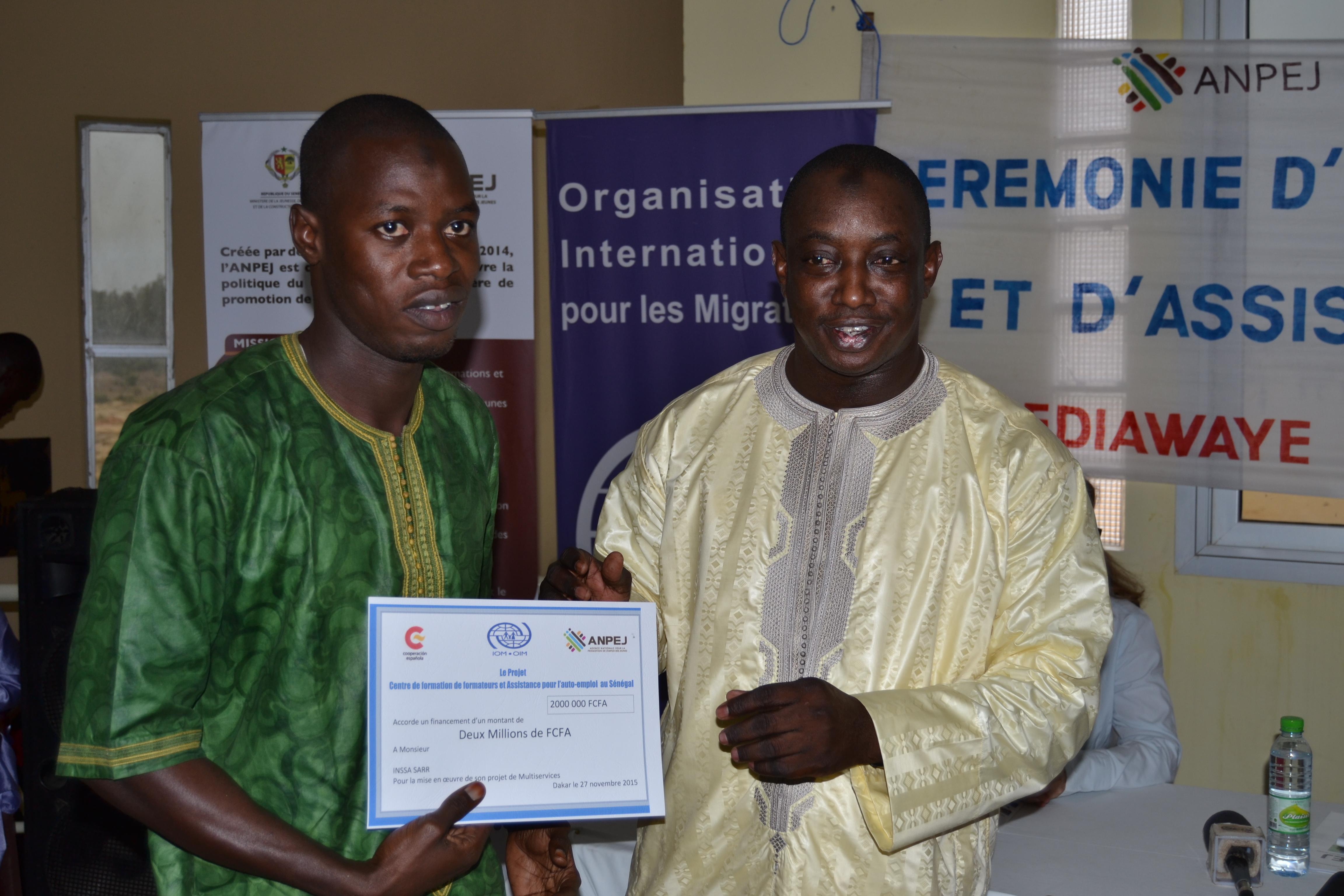 ANPEJ-OIM : Un centre de formation et des financements pour les jeunes