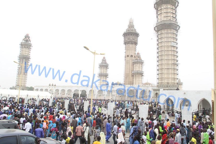 Les images du Grand Magal de Touba édition 2015 à la Grande Mosquée