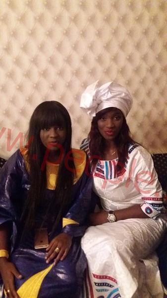 Magal de Touba 2015 : Mame Diarra Thiam ( Lissa) en compagnie de Magui Chanel