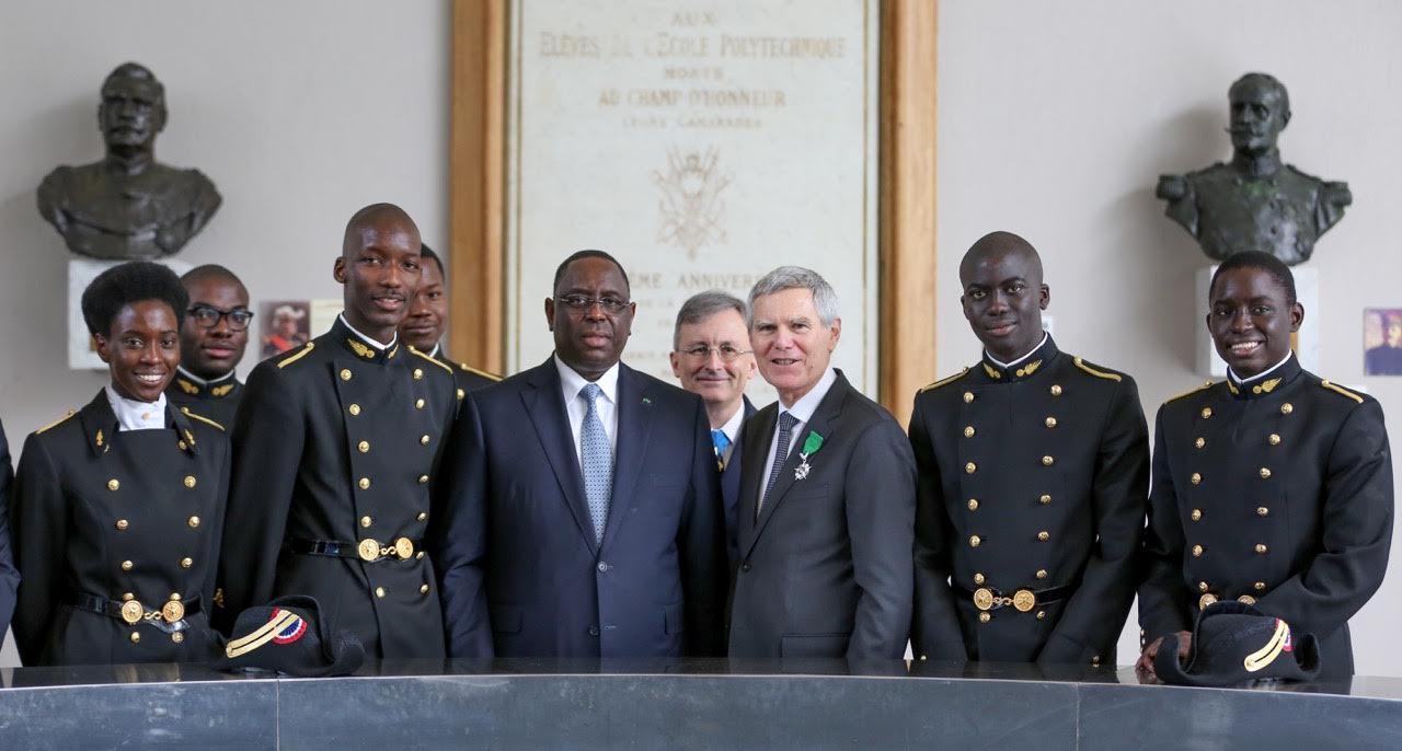 A POLYTECHNIQUE, MACKY SALL RELÈVE LA DYNAMIQUE POSITIVE DE L'AFRIQUE