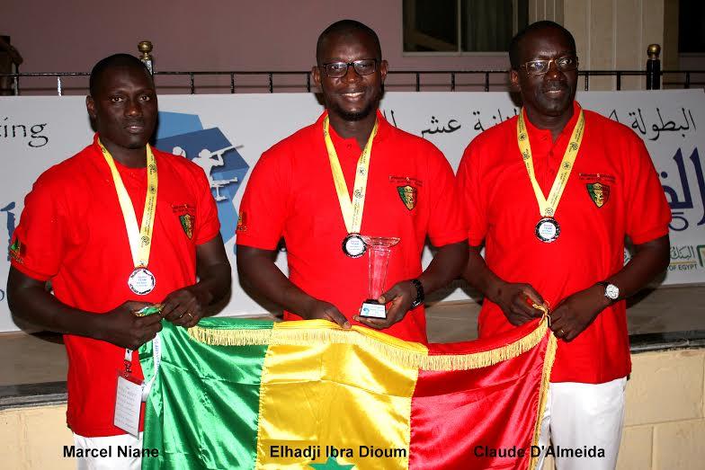 Championnats d'Afrique de tirs : Les Lions obtiennent la médaille d'argent