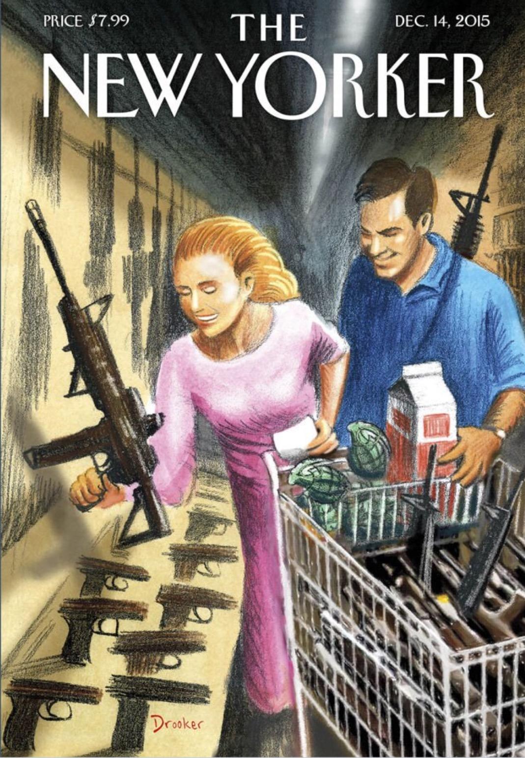 La couverture choc du New Yorker pour dénoncer la libre circulation des armes