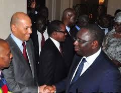 Macky Sall : « Pas de grâce pour Karim Wade! »
