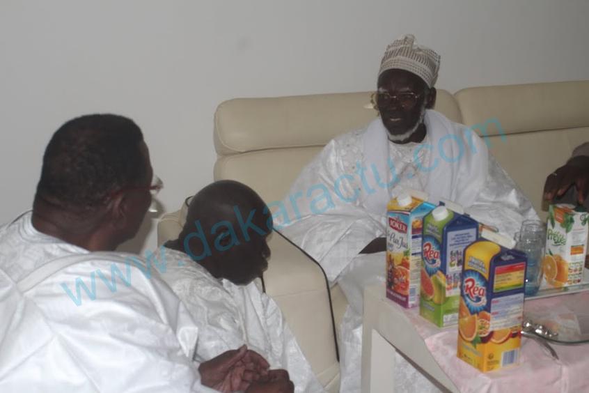 Serigne Mountakha Mbacké rend visite à Cheikh Béthio chez lui, à Touba... (Photos)