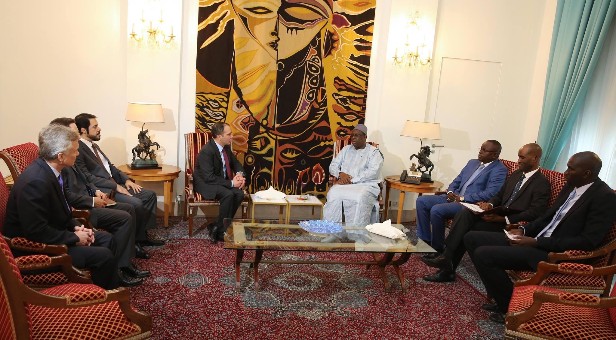 Au Sénégal depuis quelques jours, le Prince Ali reçu par le président Macky Sall