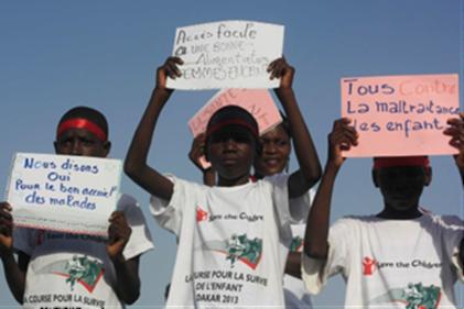 Course pour la Survie de l'Enfant : Le Parc de Hann accueille l'évènement