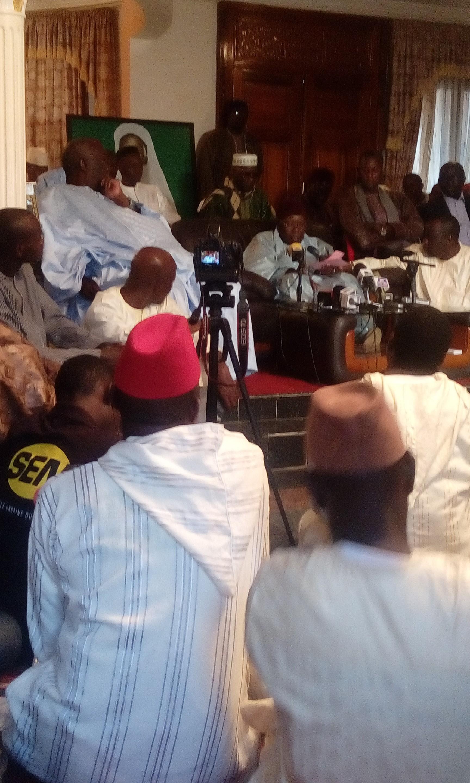 Situation politique, Terrorisme : Al Amine appelle à l'apaisement