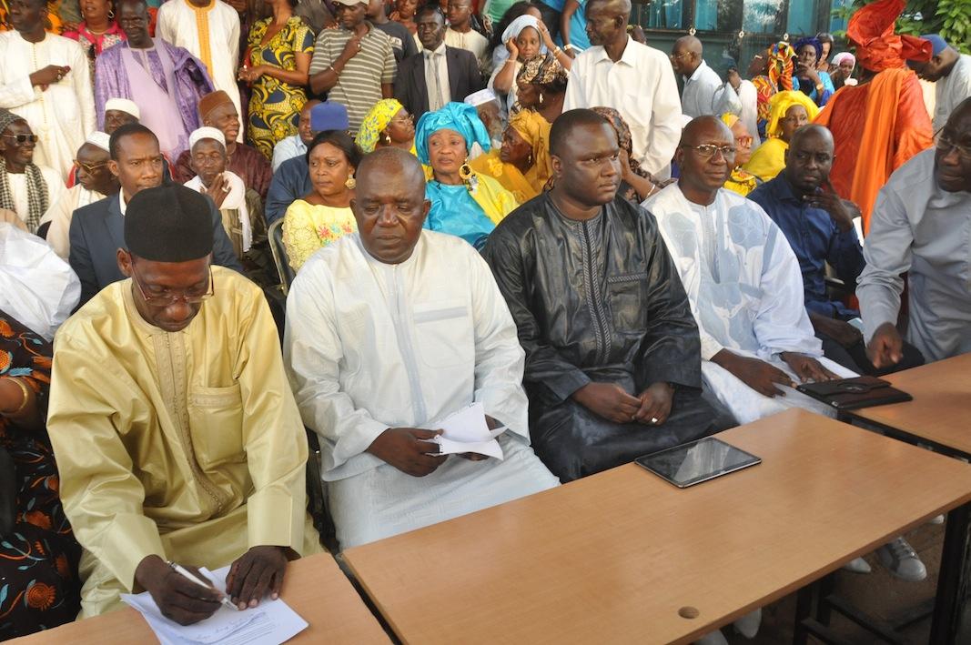 Une délégation du Cadre de Concertation de l'Opposition (C2O) reçue par l'Ambassadeur de la France au Sénégal
