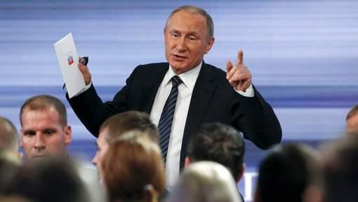 """Vladimir Poutine """"fier"""" de ses filles"""