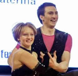 Ekaterina Tikhonova, l'une des filles de Vladimir Poutine (lors d'une compétition de danse en Pologne, avril 2014) © reuters.