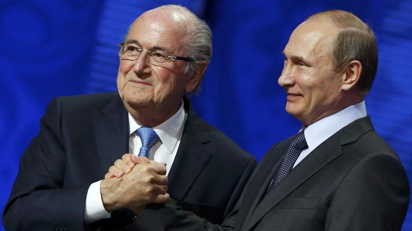 Vladimir Poutine attribuerait le prix Nobel de la Paix à Sepp Blatter