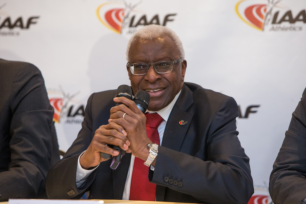 Présidentielle 2012 : Le financement de Lamine Diack aurait été destiné au Parti Socialiste