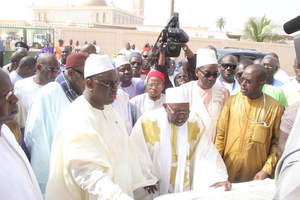 Macky Salll veut finaliser les travaux de la grande mosquée de Tivaouane