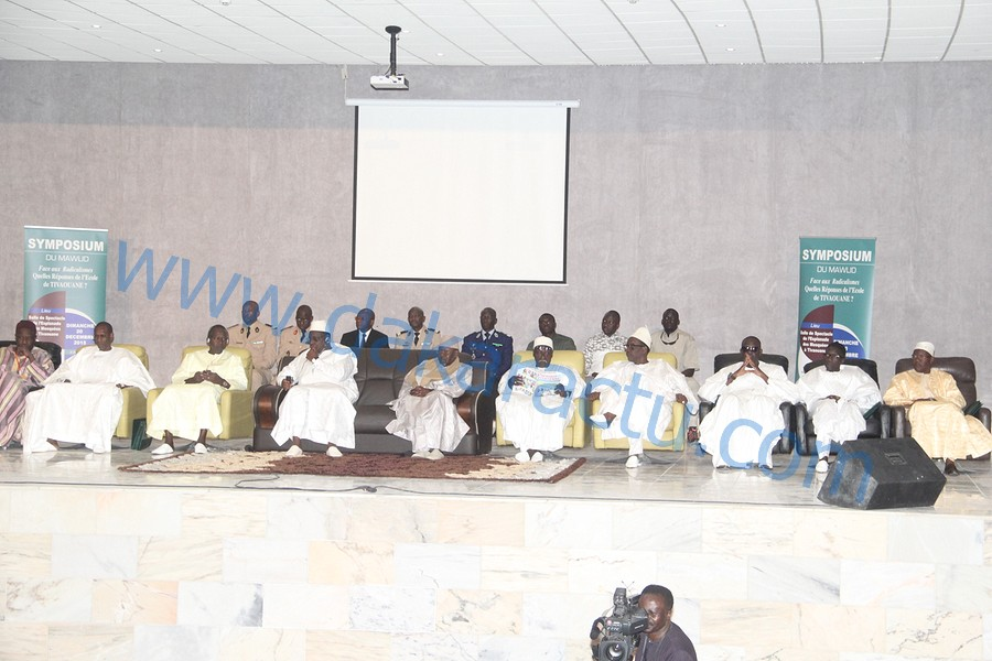 Gamou de Tivaoune 2015 : Les images du symposium du mawlid au complexe El hadj Malick Sy
