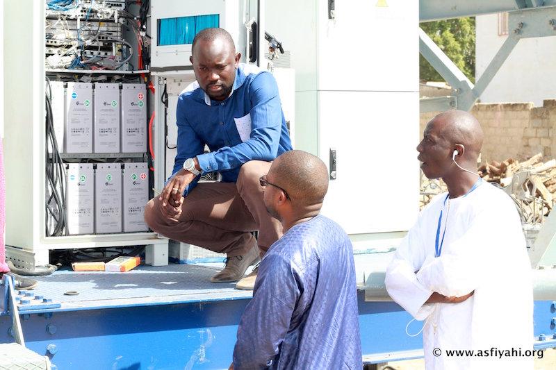 Dispositif de l'ARTP pour le Gamou 2015: Visite de Abdou Karim Sall à Tivaouane