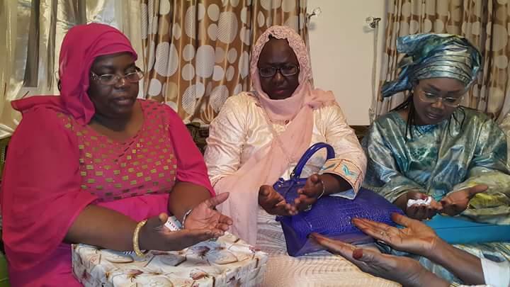 """Gamou 2015 : Les femmes de """"Bby"""" en visite chez des Khalifes"""