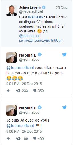 Quand Julien Lepers imite Nabilla