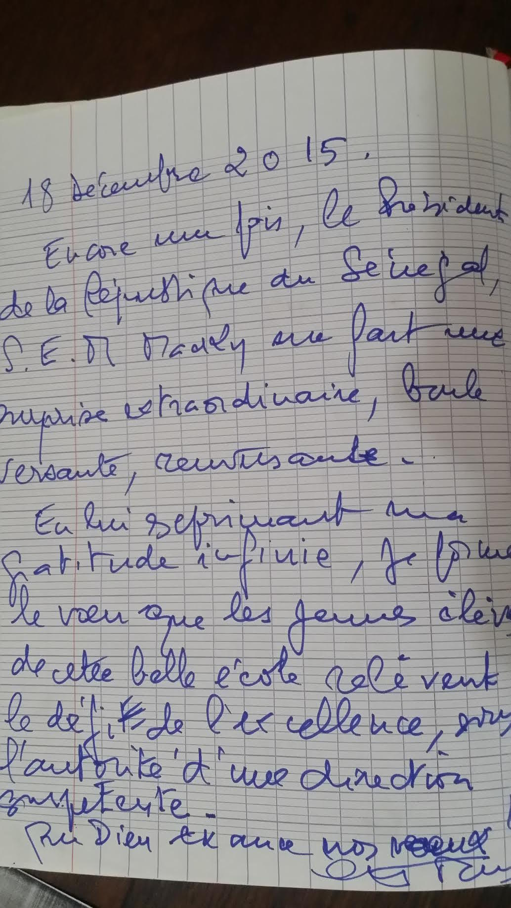 Le témoignage du Président Abdou Diouf sur le Président Macky Sall