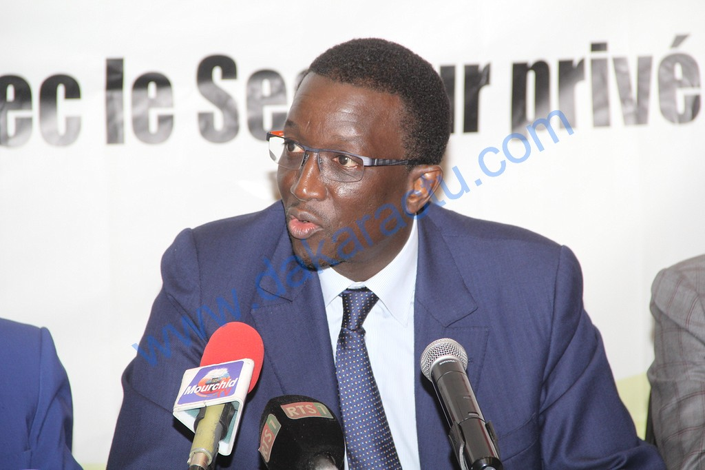 """Amadou Ba : """" Le président Macky Sall milite en faveur d'un secteur privé fort """""""