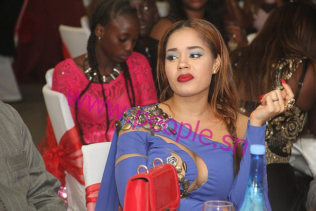 Rama Aïdara, la ravissante épouse de Mara N'diaye LCS au mariage de Momo N'diaye