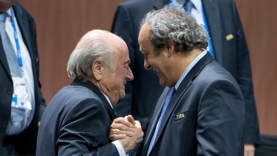 "Platini : "" Blatter voulait ma peau """