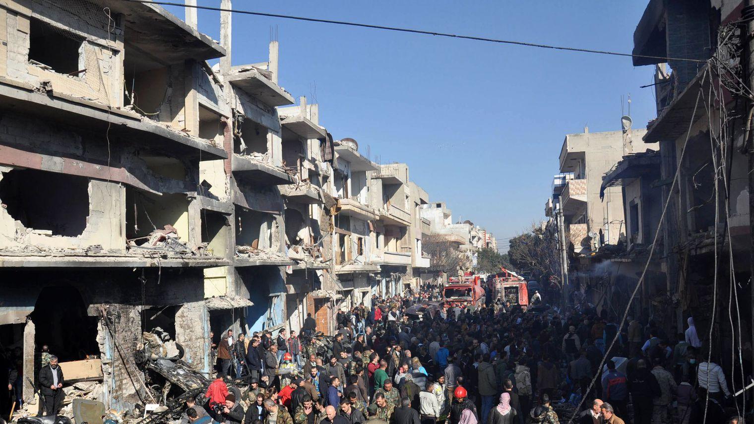 SYRIE :  Un raid russe contre une prison d'Al-Qaïda fait une quarantaine de morts