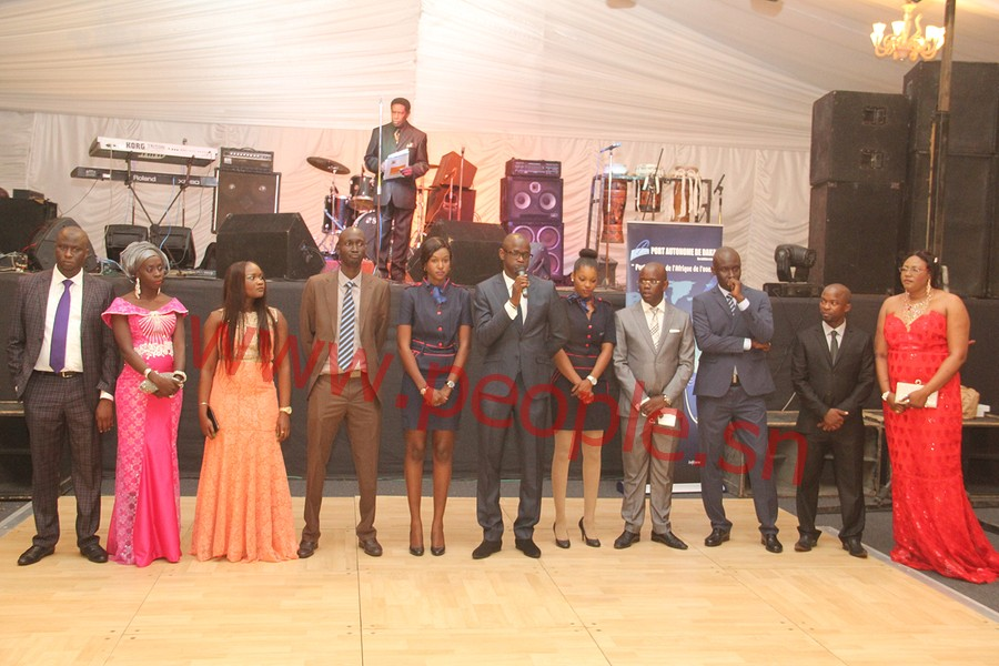 Soirée convention Jeunes reporters : Pape Diouf assure, les journalistes rassurent ( IMAGES)