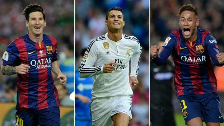 Cristiano Ronaldo et Neymar peuvent-ils priver Messi d'un cinquième Ballon d'Or ?