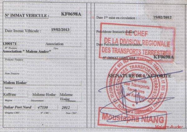 CAMBRIOLAGE AU SERVICE DES MINES : Des documents relatifs aux cartes grises emportés