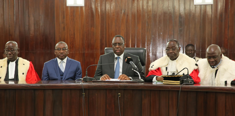 Rentrée des Cours et Tribunaux : Macky Sall offre un terrain de 10.000 m2 et 10 milliards pour l'école de formation des avocats
