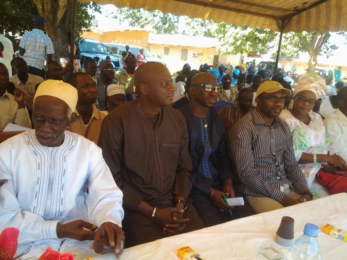 Forum de Néma 2 : Pour la structuration de leur quartier, les populations font appel au soutien du Chef de l'Etat