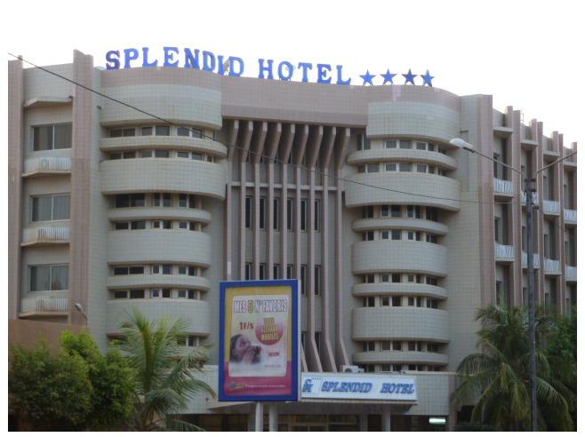 Burkina Faso: coups de feu et détonations au Splendid Hôtel dans le centre de Ouagadougou